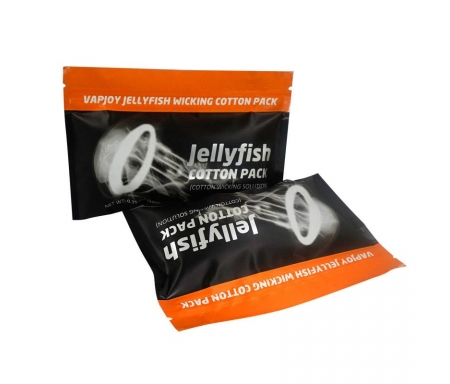 Vapjoy Jellyfish Wicking Organic Cotton - Nicetill Vape Store Cyprus