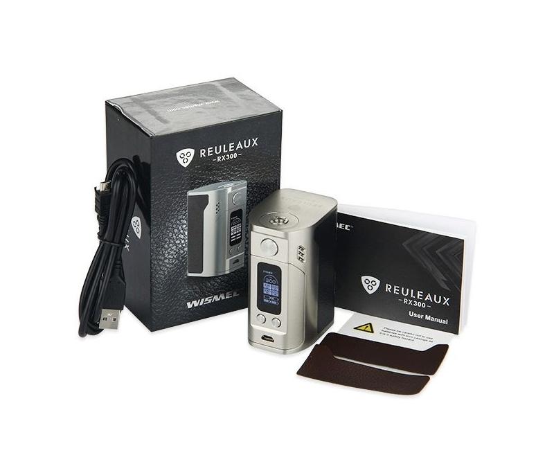 Wismec Reuleaux RX300 TC Box Mod - Nicetill Vape Shop Cyprus