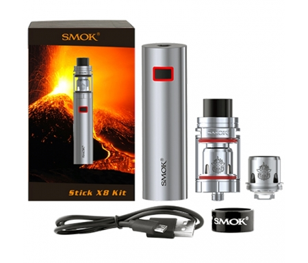 SMOK Stick X8 and TFV8 X-Baby Starter Kit - Nicetill Vape Shop Cyprus