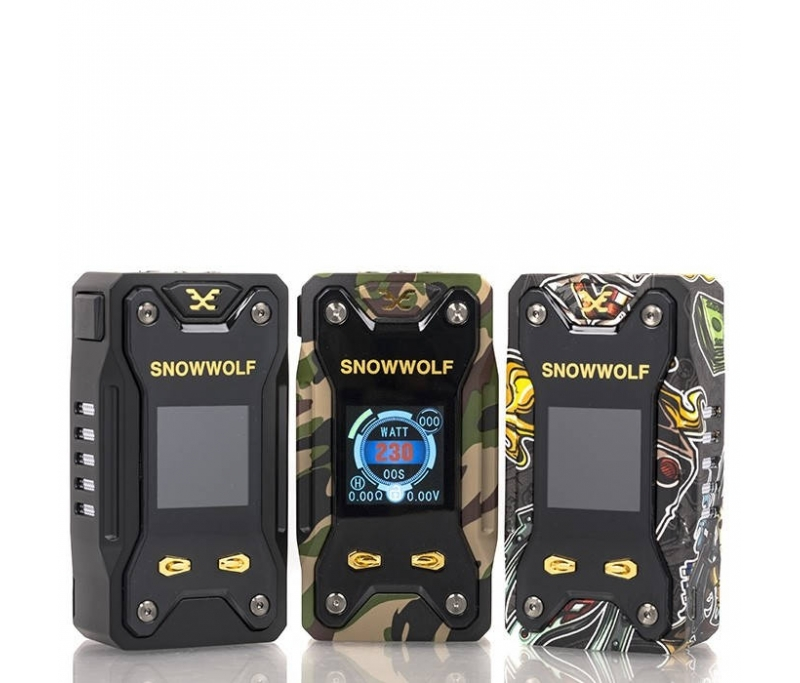 Snowwolf Xfeng 230W TC Box Mod - Nicetill Online Vape Shop Cyprus