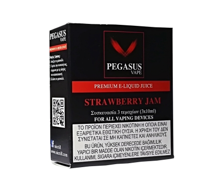 Pegasus Vape Strawberry Jam eliquid - Nicetill Online Vape Shop Cyprus