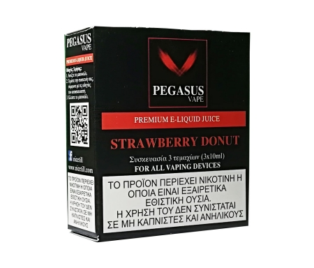 Pegasus Vape Premium Strawberry Donut EJuice - Nicetill Vape Shop Cyprus