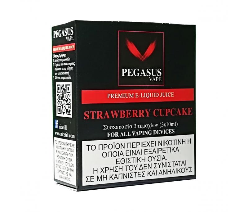 Pegasus Vape Strawberry Cupcake Premium E-liquid - Nicetill Vape Shop