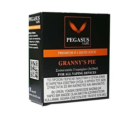 Pegasus Vape Granny's Pie E Liquid - Nicetill Online Shop Cyprus