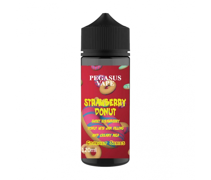Pegasus Vape Strawberry Donut Shake - Nicetill Online Vape Shop Cyprus