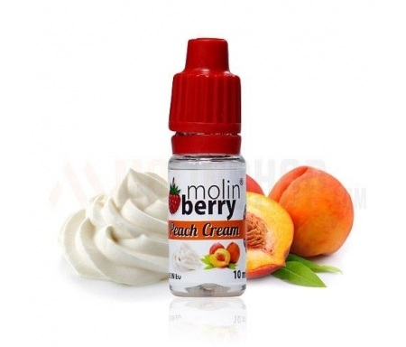 Molin Berry Peach Cream Flavor Concentrate - Nicetill Online Vape Shop Cyprus
